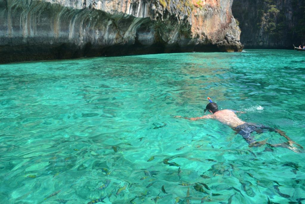 Snorkeling in Ko Phi Phi National Park  Travel4more.org